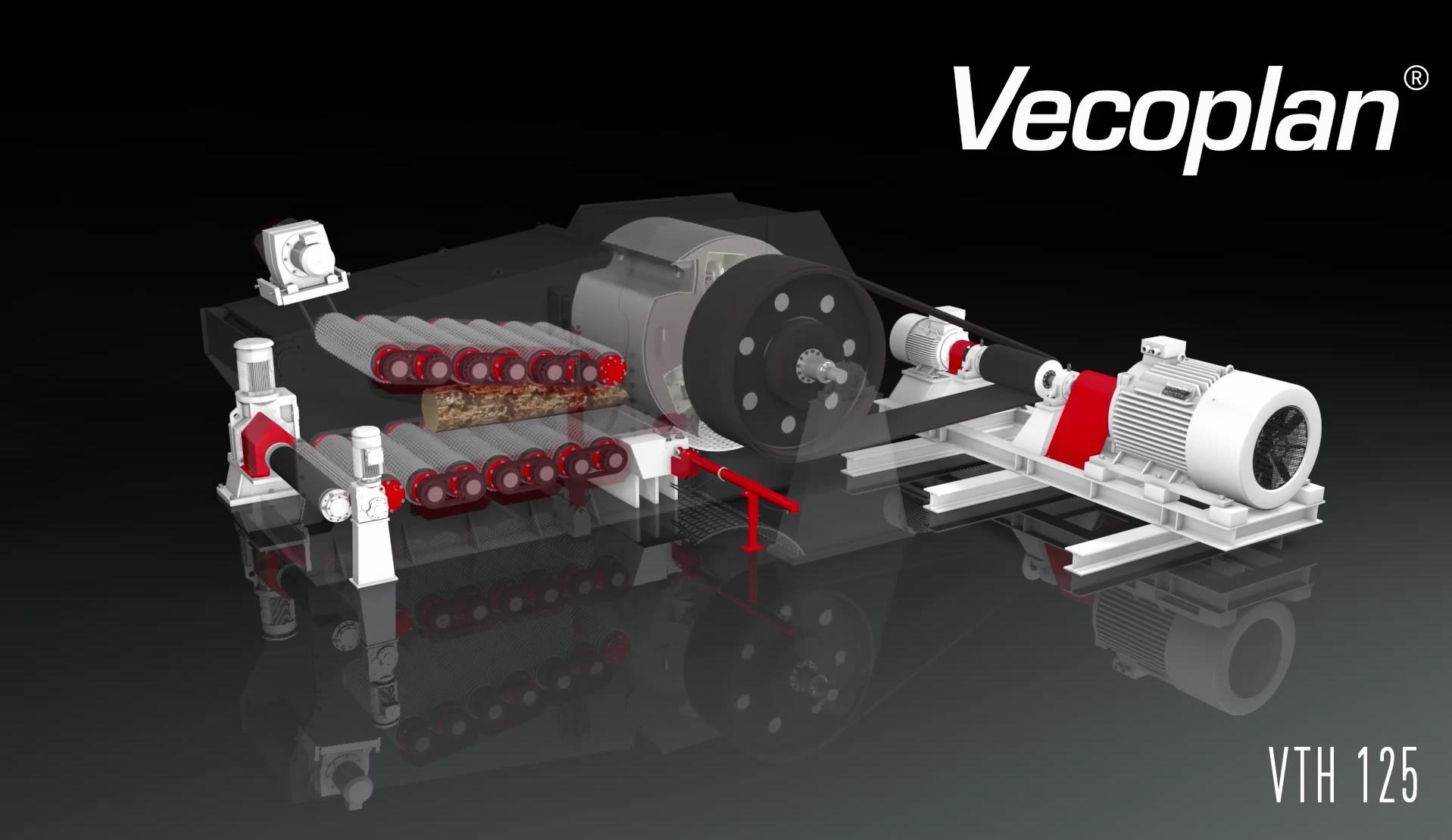 Принцип работы измельчителя серии VAZ